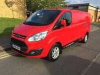 2014 Ford Transit Custom 2.2 TDCi 290 L2H1 Limited Panel Van 5dr Manual Panel Va
