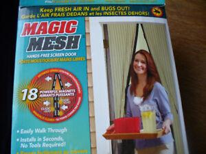 Moustiquaire magnétique mains libres Magic Mesh
