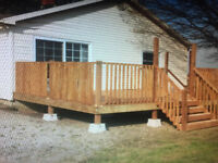Deck and Fencing