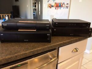 2 Satellite HD PVR boxes and 2 regular HD boxes
