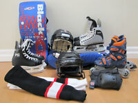 Assorted Hockey Equipment from $10-$25