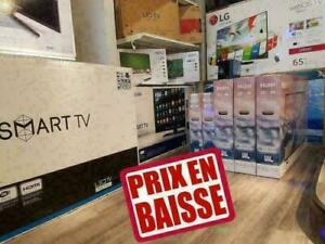 **G R A N D SPECIAL * TV HAIER 4K UHD  65Po $610 SEULEMENT /TV LG SMART TV LED TV LG  4K UHD 4K ULTRA HD TV 4K TABLETTES