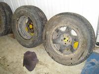Escape Winter Tires and Rims