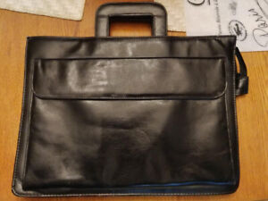 Soft sided briefcase