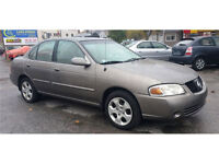 2004 Nissan Sentra 1.8L, Safety 7 Etested, 2 yrs free oil change