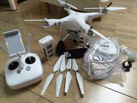 DJI PHANTOM 3 ADVANCED DRONE with extras.