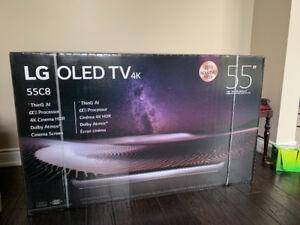 """BNIB LG C8 55"""" 4K OLED TV w/ 1 year LG Warranty"""