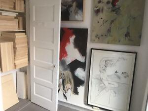 2 Ateliers d'artiste à louer -  Plateau Mile-end - artist studio