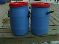 Small Plastic Drums