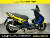 Kymco Super 8 50 2008 RUNNING PROJECT SCOOTER BIKE 50CC DAMAGED CHEAP REV AND GO