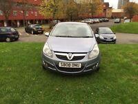 Vauxhall Corsa six 1.2 petrol reg 2008 Milage 72,000 mot 12 month