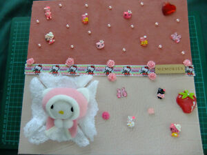 ALBUM SCRAPBOOKING HELLO KITTY