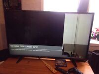 LG 43 inch full HD 1080p TV with freeview (Faulty)