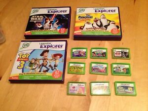3 leapster explorer and 1 leapster tag pen plus 12 games Windsor Region Ontario image 5