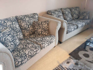 Ashley's Sofa Set with Chaise