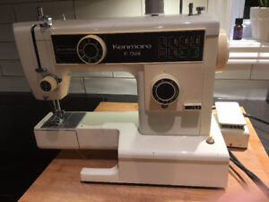 kenmore sewing machine models. kenmore 10 stitch sewing machine heavy duty zig zag model .385-1 models t