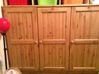 Low Wardrobe and drawers