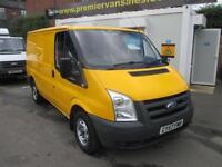 2008 57 FORD TRANSIT 2.2 TURBO DIESEL, 110 BHP, NEXT YEAR M.O.T, TOW BAR, VERY C