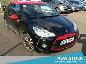 2013 CITROEN DS3 1.6 e HDi Airdream DStyle Red 3dr