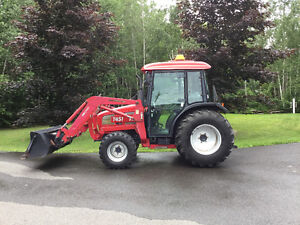 TYM T451 TRACTOR & ECONOR E72 (220) SNOW BLOWER FOR SALE