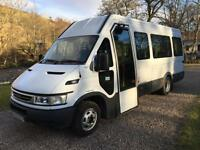 IVECO DAILY MINIBUS TWIN WHEEL 2005 45c13 wheelchair lift