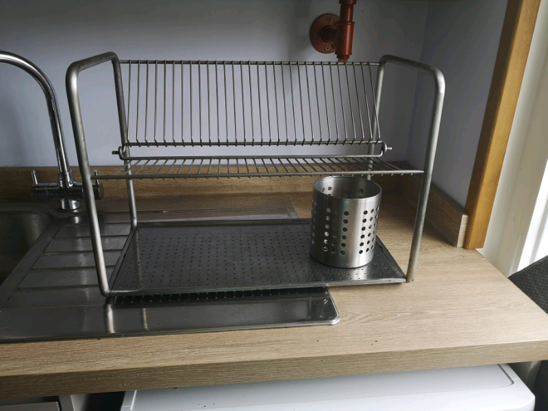 Ikea Dish Drying Rack and Culrery holder | in Bournemouth, Dorset | Gumtree