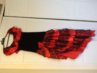 Cancan adult costume