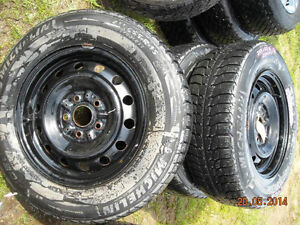 Toyota Winter Rims and Tires Michelin Why not be safe?