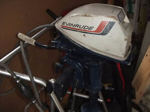 Evinrude Outboard Motor 4HP   Short EXC