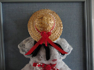 HANDMADE VINTAGE LACE DOLL DECORATIVE COLLECTIBLE WALL HANGING London Ontario image 9