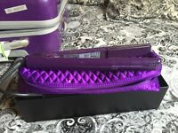 Purple GHD hair straightners