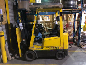 Hyster 35 Propane Counter-Balance Forklift
