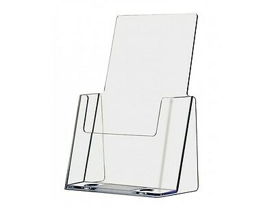 Clear Acrylic Half Page Brochure Display holder stand wholesale