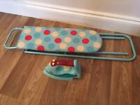 Early Learning Iron and Ironing Board Good Condition