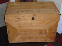 Coffre pour jouets Pour rangement, meuble coffre en bois
