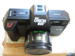 SRZ ORION 500 35mm standard automatic camera- $10