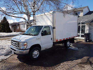 "2012 Ford E-350 Cube 12"" Fourgonnette, fourgon"