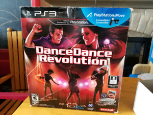 Dance dance revolution ps3 avec tapis