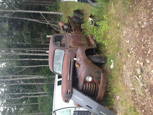 Selling a 1948 f135 truck for parts or resto