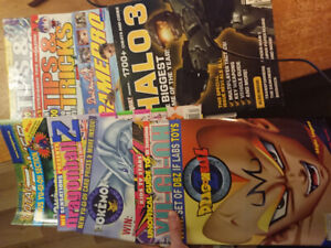 Assorted Videogame magazines