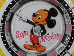 "Vintage Disney Game ""Spin Mickey"""