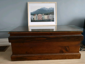 Wooden chest $40 obo