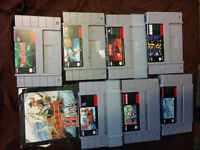 Bunch of snes and nes games to sell