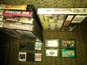 3ds, ds, gba games