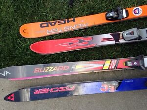 Skis and boots starting at $20