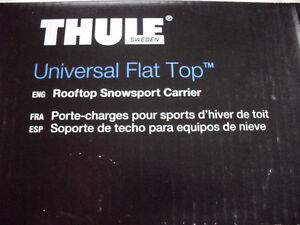 THULE universal flat top - Snow sport carrier