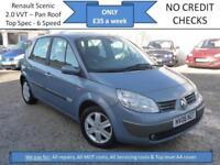 **£35 A WEEK** Renault Scenic 2.0 VVT 136 6sp Dynamique, 12 MONTH MOT, EW CD RCL