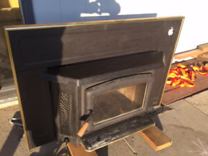 Wood Burning Fire Place Insert