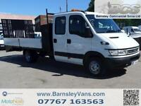 2005 55 IVECO DAILY 50C14 DROPSIDE BEAVERTAIL PLANT EX COUNCIL