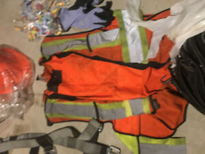 Harness, Hard Hat, Gloves and more!
